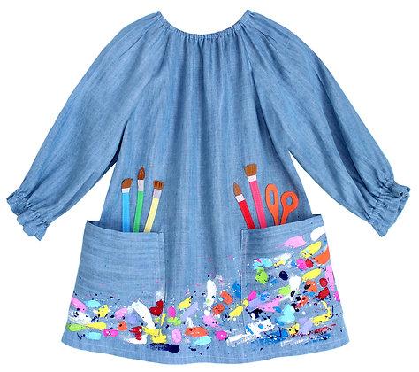 The Artist Dress - Denim