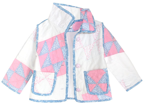 Kids 18m: Pink Blue Abstract