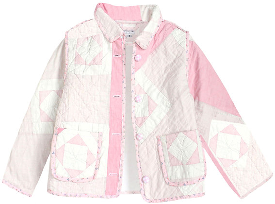 Kids 8y: Soft Geometric Pink