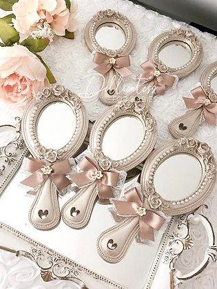 Espelho de Mão - Champagne