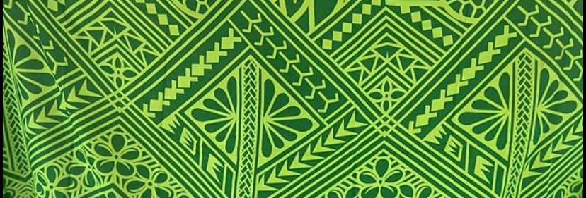 Light Green Hawaii Print Sarong Lava Lava 72x48