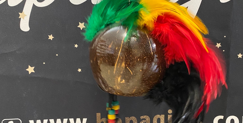"""Rasta ikaika  8""""x13"""" Hawaiian warriors helmet"""