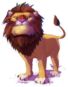 Feather's Lion