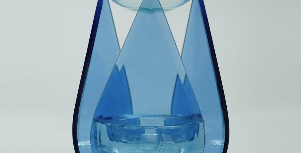 GLASS BURNER S025 BLUE