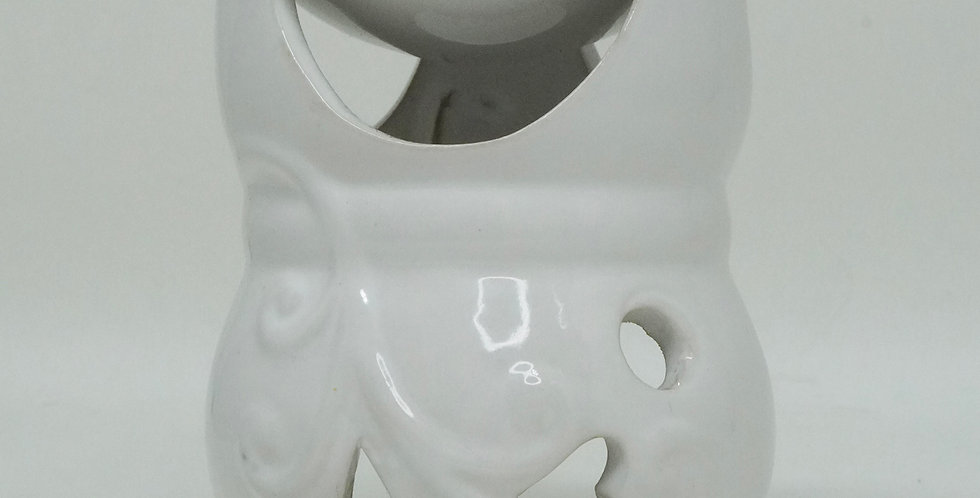 CERAMIC BURNER D04 WHITE