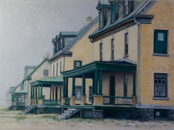 Officer's Row, 12x16 Prints Available