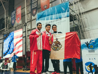 WMAA Strike Gold and Silver at 12th Pan American Wushu Championships!