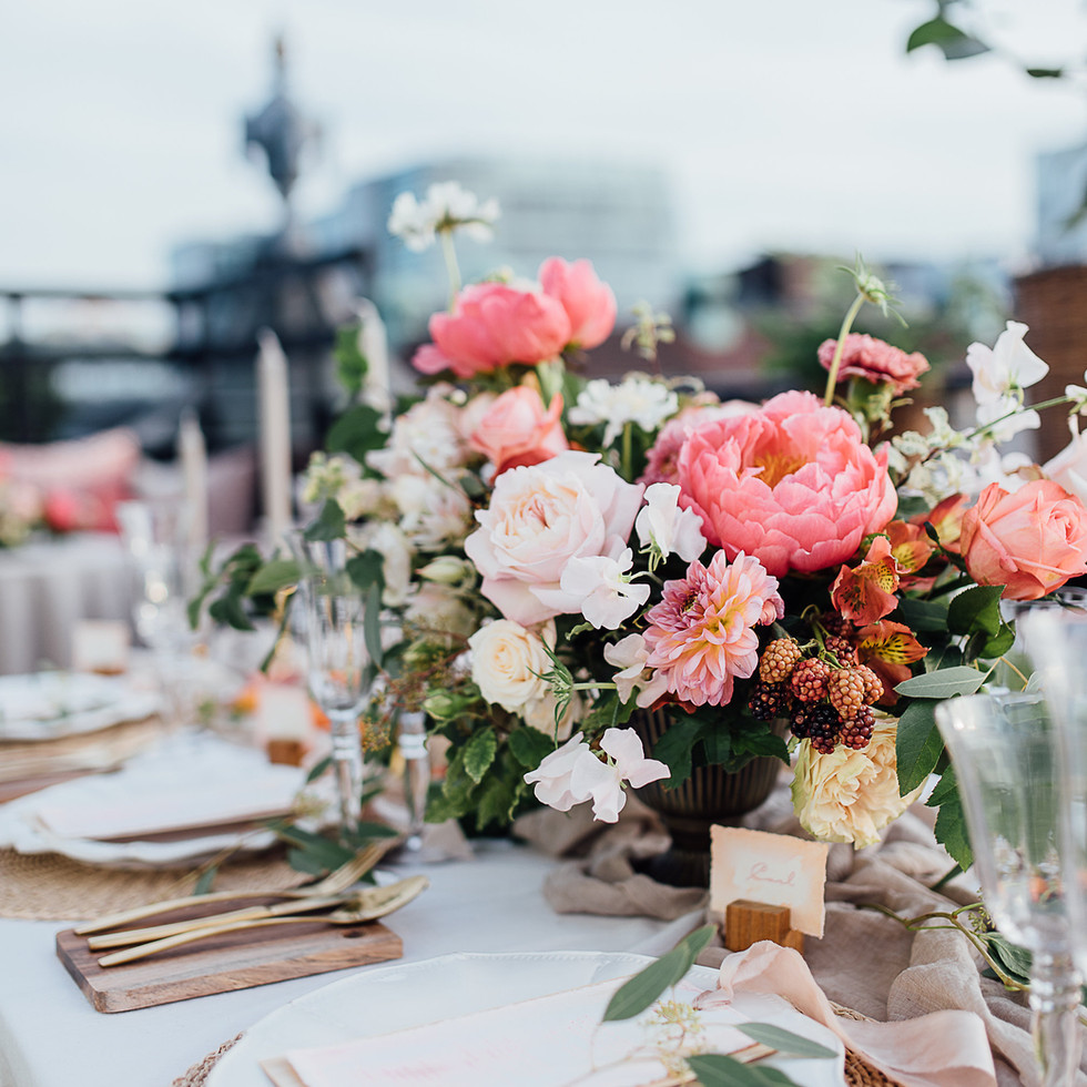 """Styled Shoot """"Rooftop Romance"""""""
