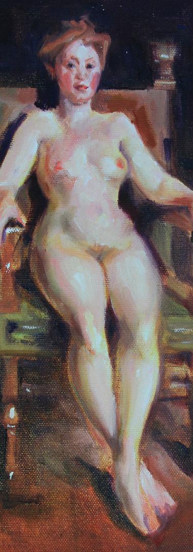 _Woman Zorn - Tinta Oleo (tela 30cm X 20