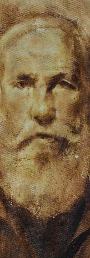 _Oldman - Tinta Oleo (tela 30cm X 20cm).