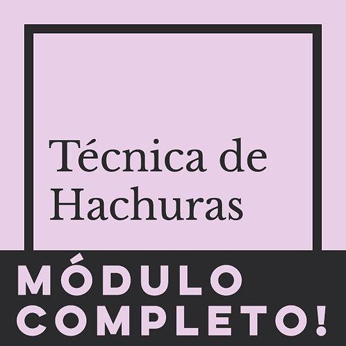 MÓDULO COMPLETO - TÉCNICAS HACHURA
