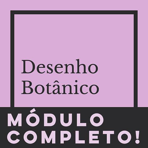 MÓDULO COMPLETO - DESENHO BOTÂNICO