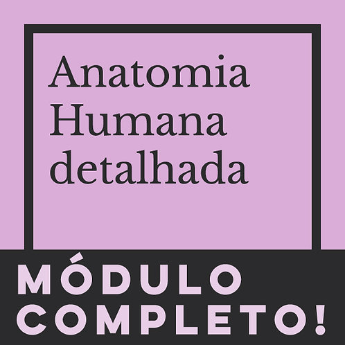 MÓDULO COMPLETO - ANATOMIA DETALHADA