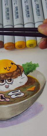 Cute food - COPIC.jpg
