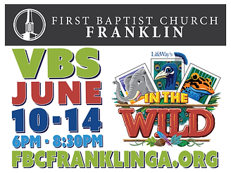 Franklin First VBS Sign 2019-01.png