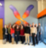 Some StemoniX employees and investors in the Maple Grove, MN office