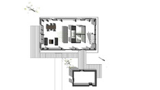 더로스건축에서는 멀티공간 웅장한스케일의  H형강 주택 디자인,설계,시공을 할 수 있습니다.