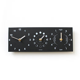 time, tide and moon phase clock by tideclocks.co.uk