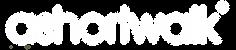logo ashortwalk in white