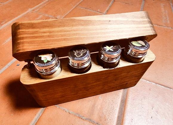 Especiero 4 Especias Básico