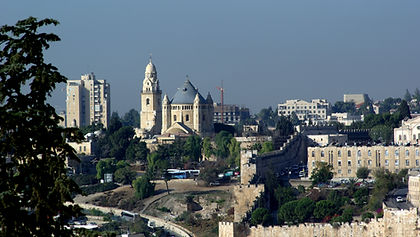 Jerusalem_Dormitio_Church_BW_1.JPG