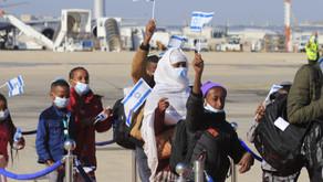 Los primeros 316 judíos etíopes llegan a Israel