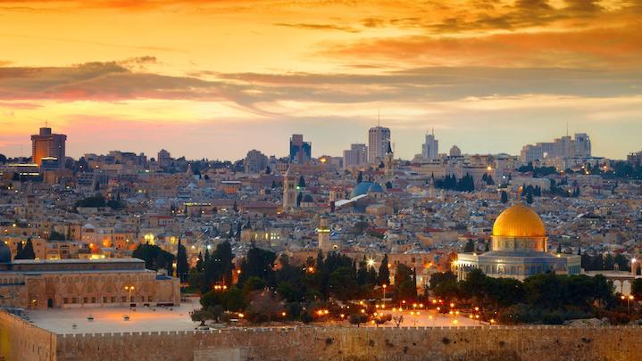 Jerusalem  puente entre 2 Mundos