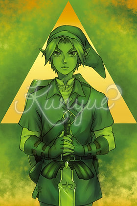 12x18 Poster - Link