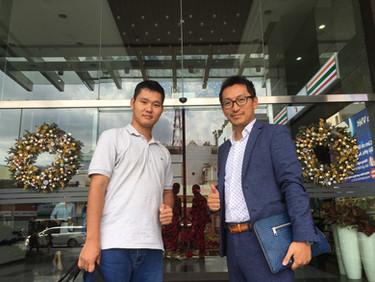 ベトナムのホーチミンにグループ会社ができました。