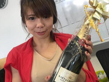 TOPセールス賞!