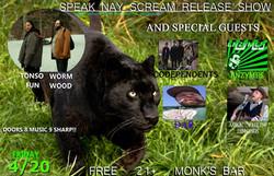 Speak Nay Scream 04-20-18