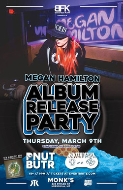 Megan Hamilton Album Release Party