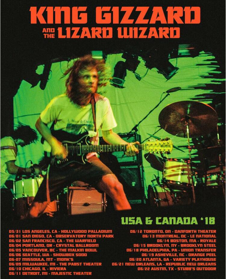 King Gizzard 6-7-18