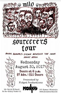 Sourcerers Tour feat. Milo