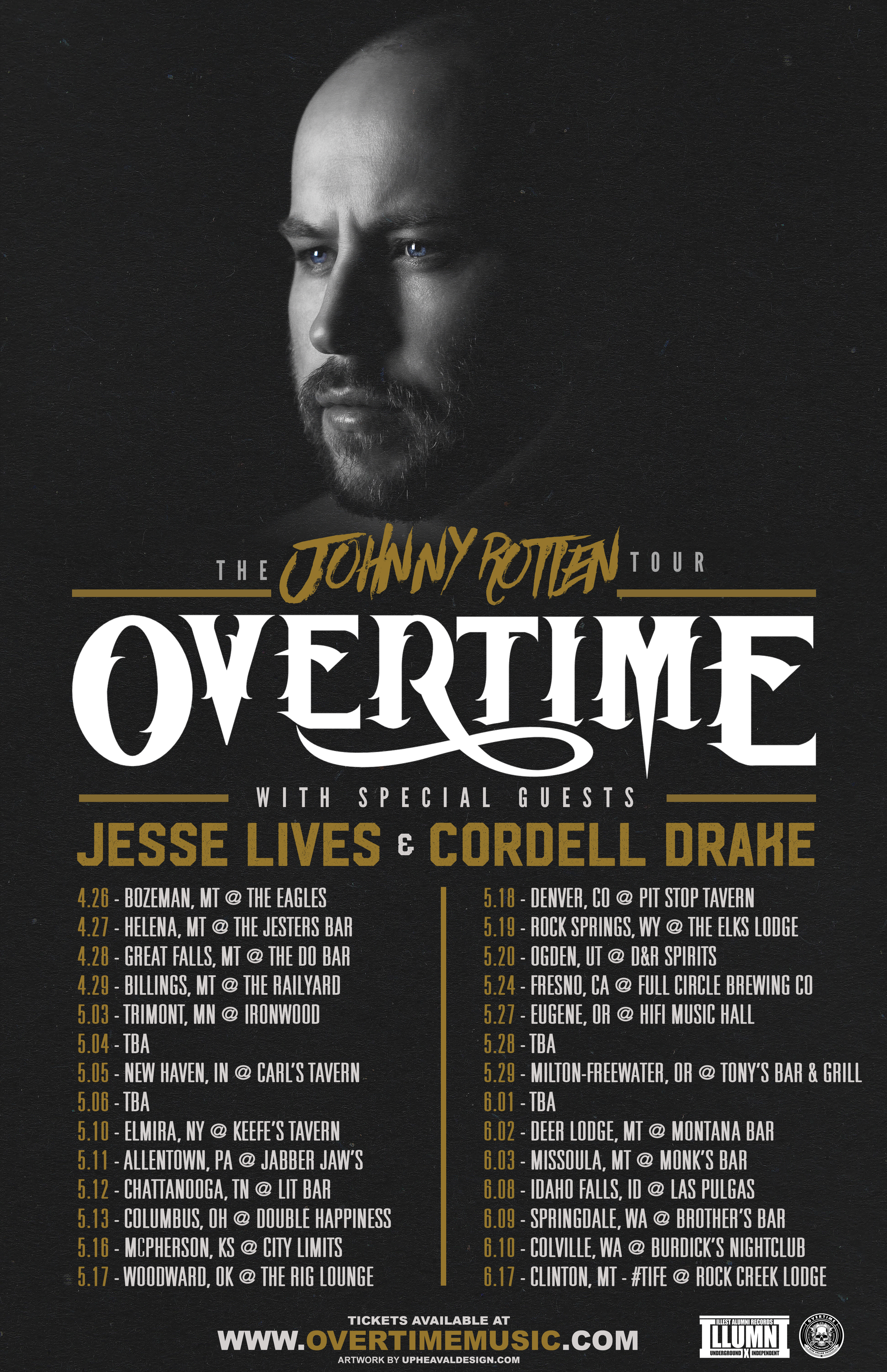 OverTime's Johnny Rotten Tour