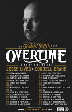 OverTime's Johnny Rotten Tour