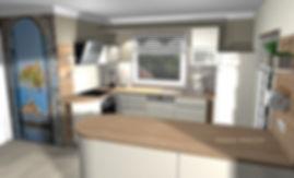 Küchenplaner Brandenburg, offene Küche, amerikanische Küche, Lackküche, Schüller