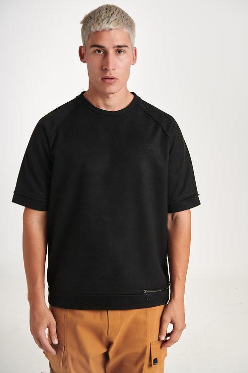 P/COC VEVLET BLACK T-SHIRT