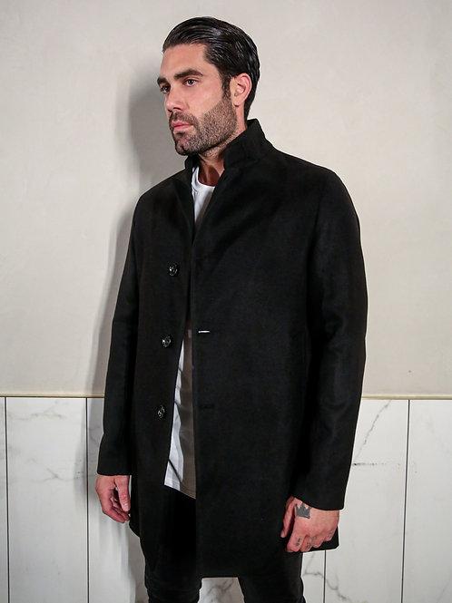 MARKUP CLASSIC COAT IN BLACK