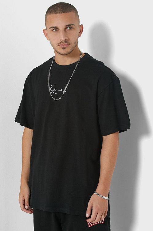 KARLKANI SIGNATURE T-SHIRT IN BLACK
