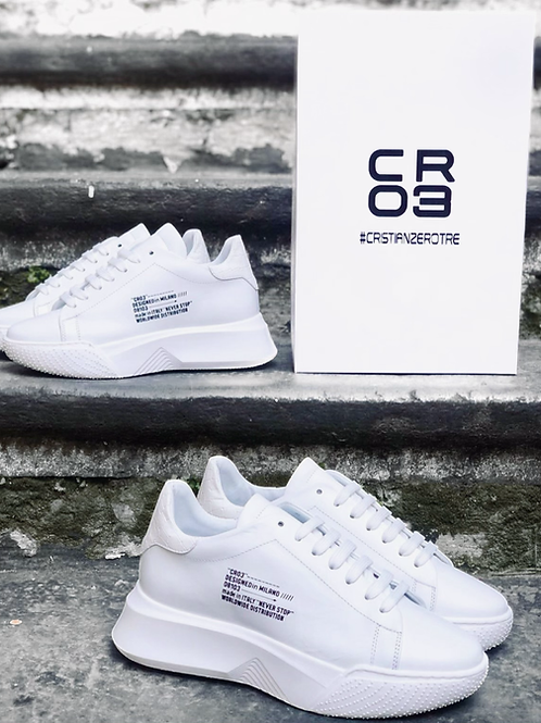 SNEAKERS CR03 IN WHITE