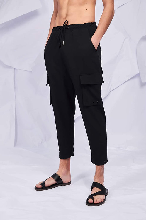 P/COC COOL FIT PANTS IN BLACK