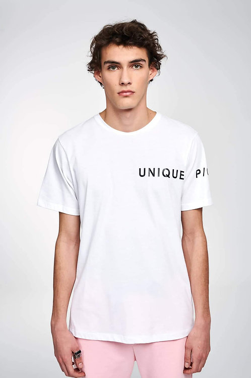 P/COC UNIQUE T-SHIRT IN WHITE