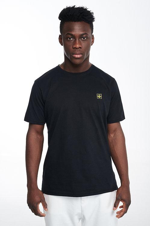 P/COC DETAIL T-SHIRT IN BLACK