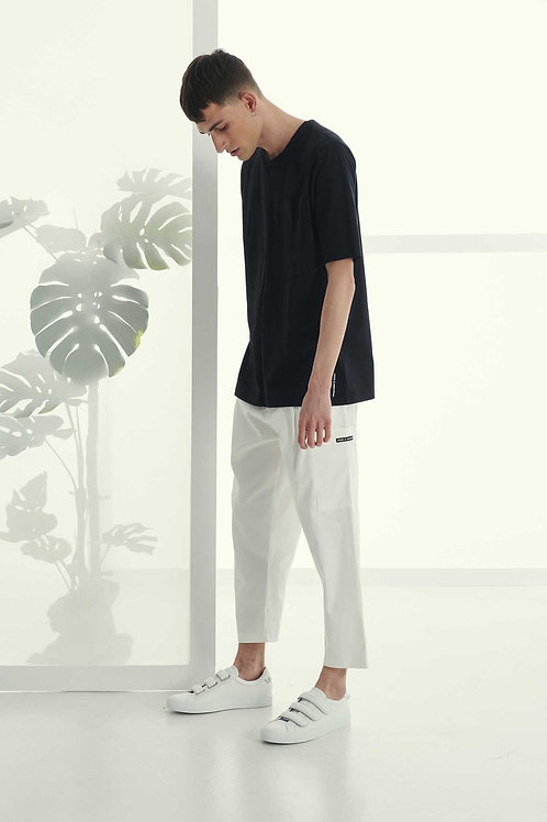 P/COC TAPERED TROUSER IN WHITE