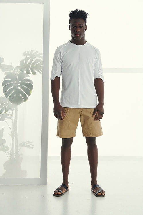 PCOC OVERSIZED T-SHIRT IN WHITE