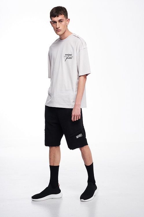PCOC BARCODE DETAILED SHORT IN BLACK