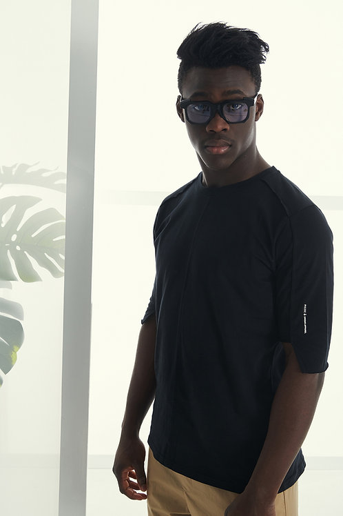 PCOC OVERSIZED T-SHIRT IN BLACK