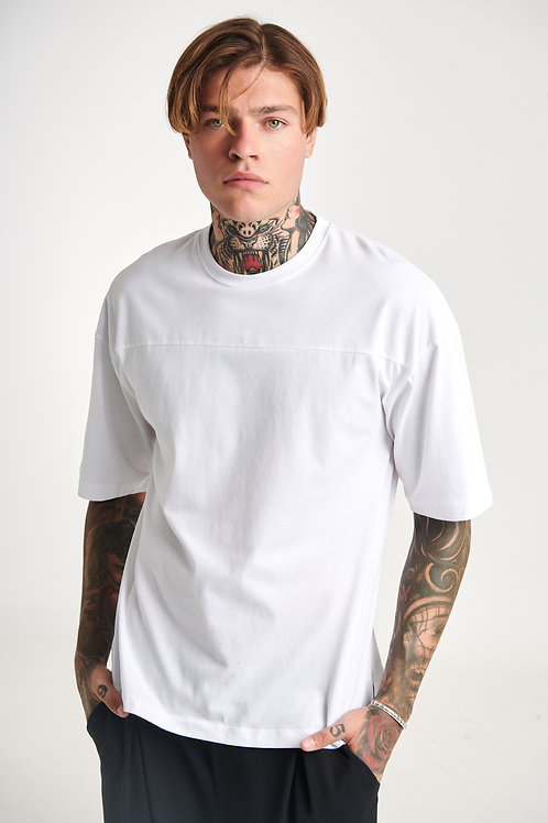 P/COC PLAIN WHITE T-SHIRT