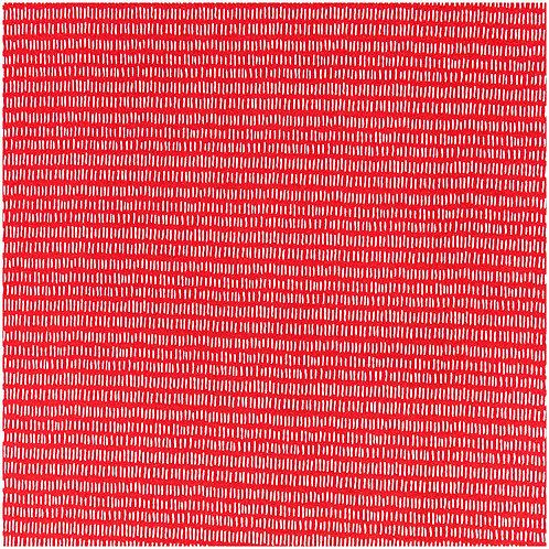 Jerseystoffe Abschnitt Striche rot-weiß von Rico Design 70x100cm